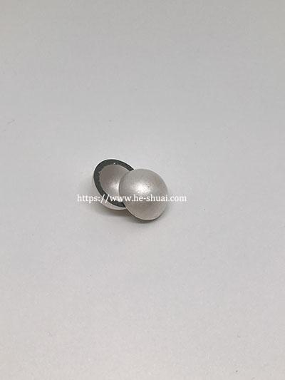 piezo hemisphere with silver electrode