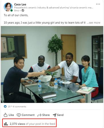 Coco Liao in HE SHUAI company
