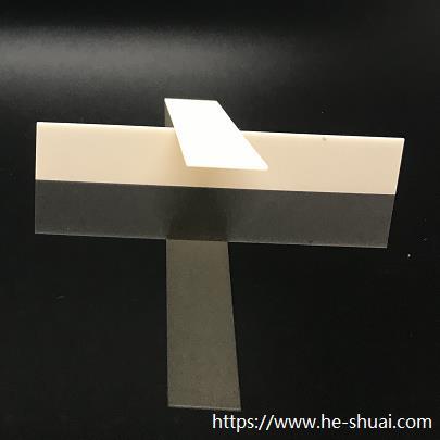 Blank Electrode piezoceramic plate