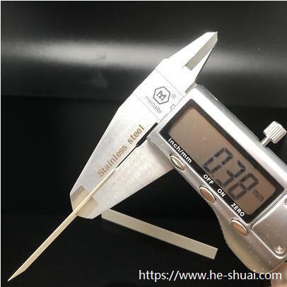 Ultrathin Piezoelectric ceramic 0.38mm thickness