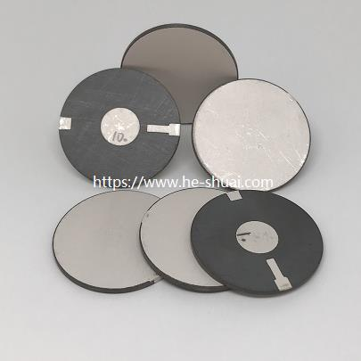 Piezoelectric disc with wrap electrode