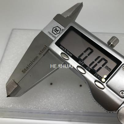 Ultra-small size OD2mm x 20Mhz piezo disc
