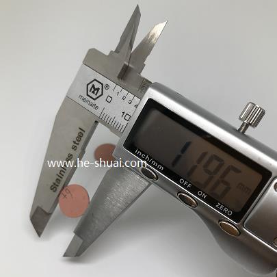 OD 11.96mm piezo composite disc 1-3